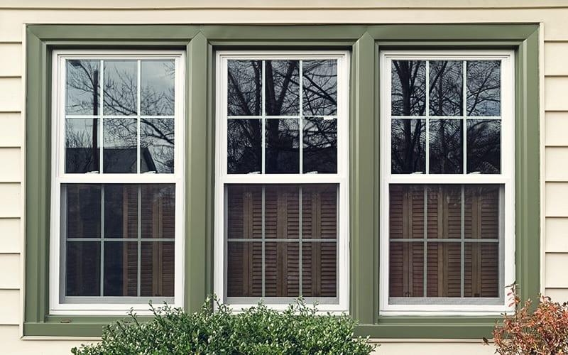 ventanas fuera de casa