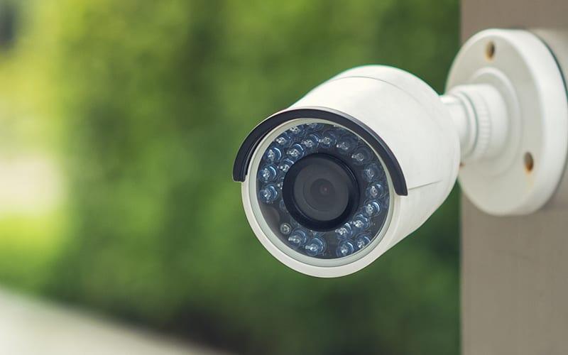 cámara de seguridad al aire libre