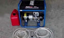Generadores de emergencia, suministro seguro de energía seguro
